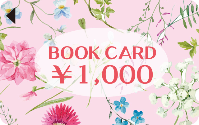 BOOK CARD ¥1,000