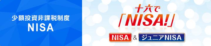 少額投資非課税制度 NISA